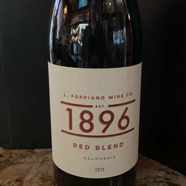1896 Foppiano Red Blend